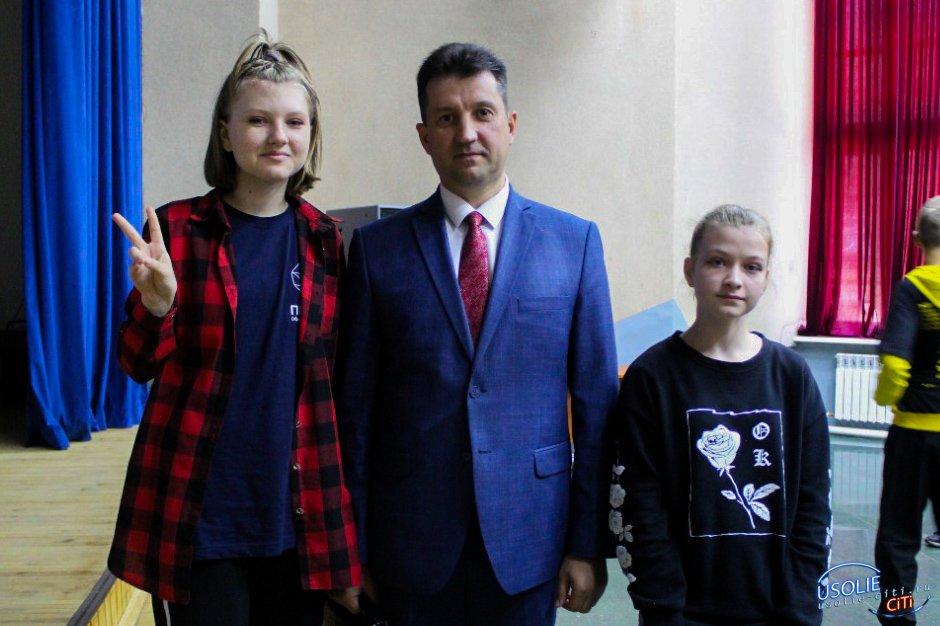 Мэр Усольского района встретился с будущими научными деятелями