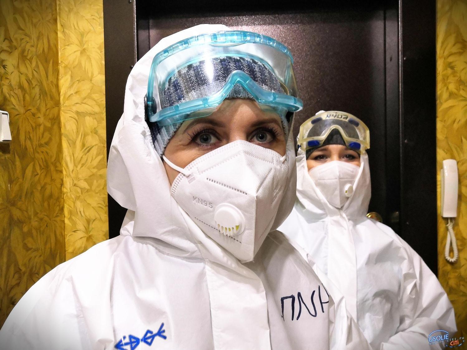 Врач рассказывает жителям Усолья о масштабе грядущей волны пандемии
