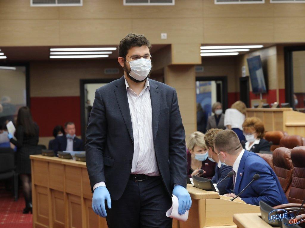 Заксобрание:  Депутаты от Усолья приняли участие в обсуждении злободневной темы