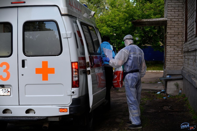 Ковидный госпиталь в Усолье уже  переполнен