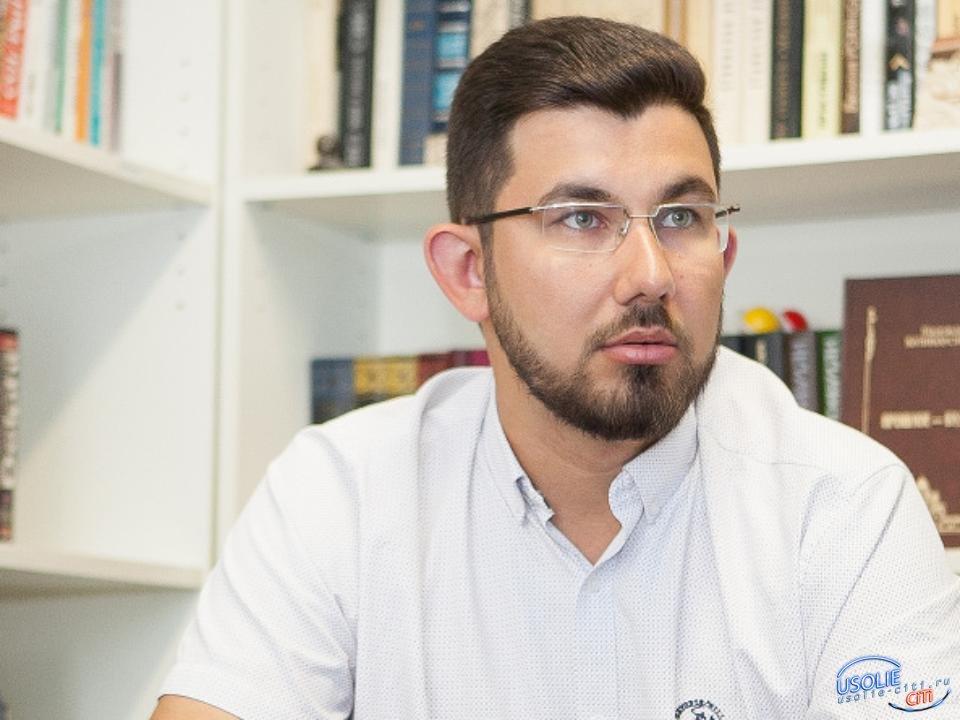 Степан Франтенко поздравляет работников сельского хозяйста