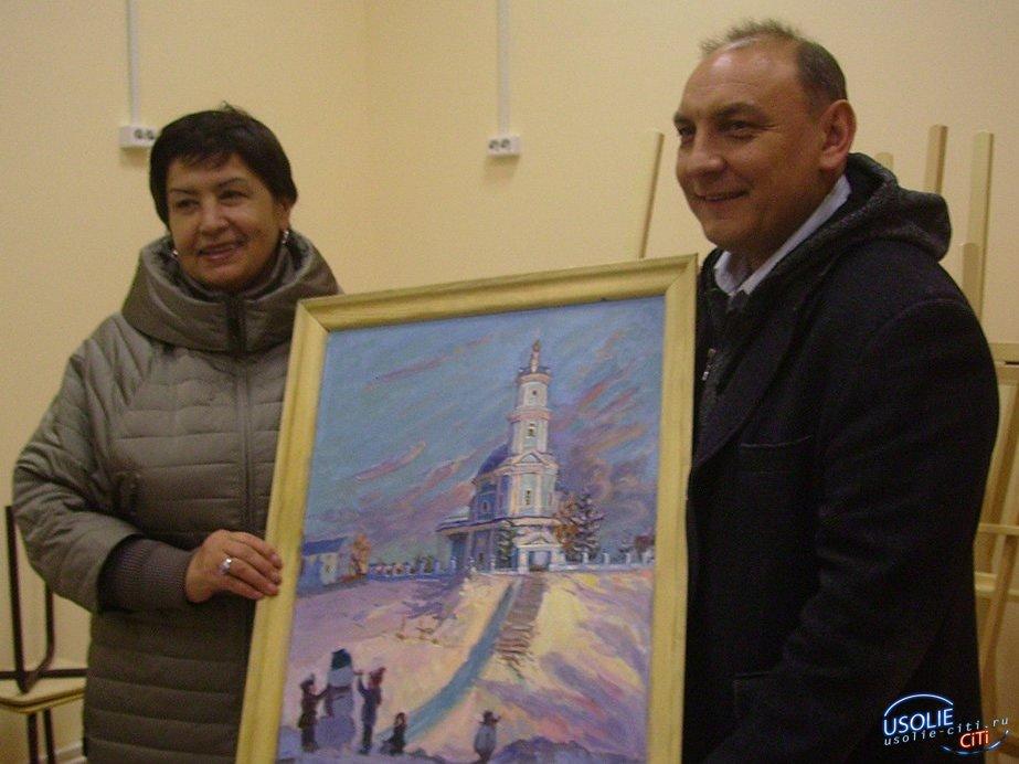 Ирина Синцова побывала в Усолье